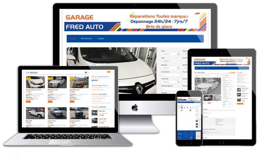 Garage Fred auto Site internet Munitycom