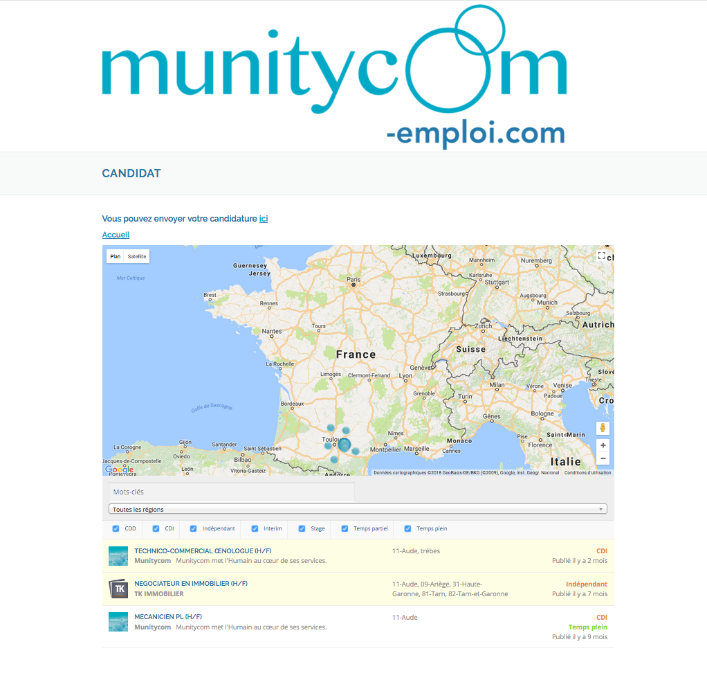 Munitycom toulouse